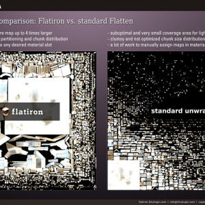 Flatiron texture baking plugin