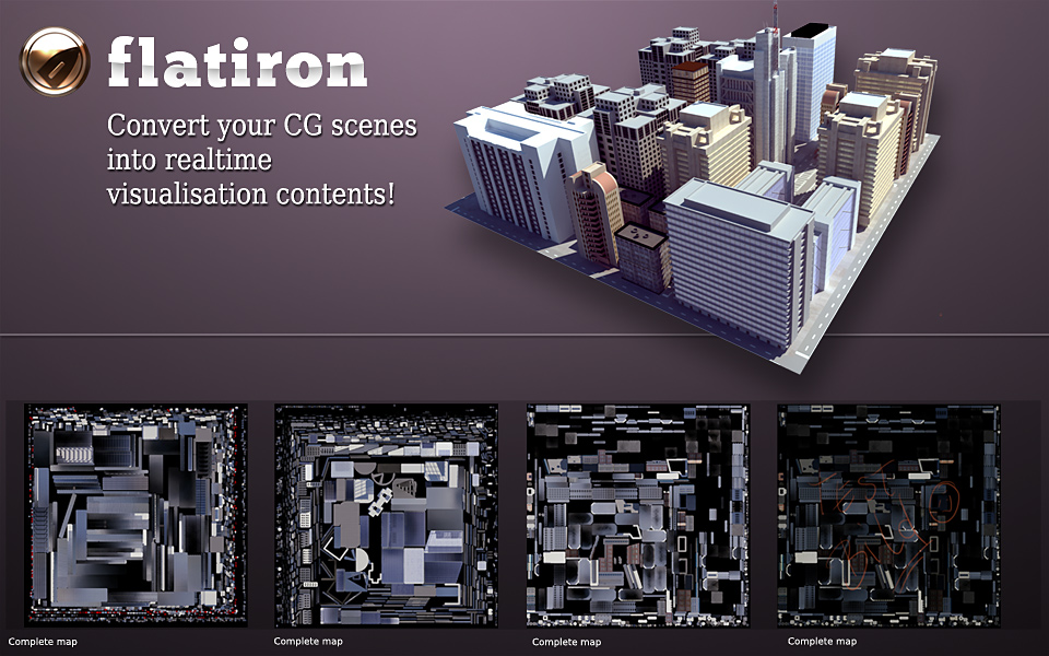 Flation texture baking plugin