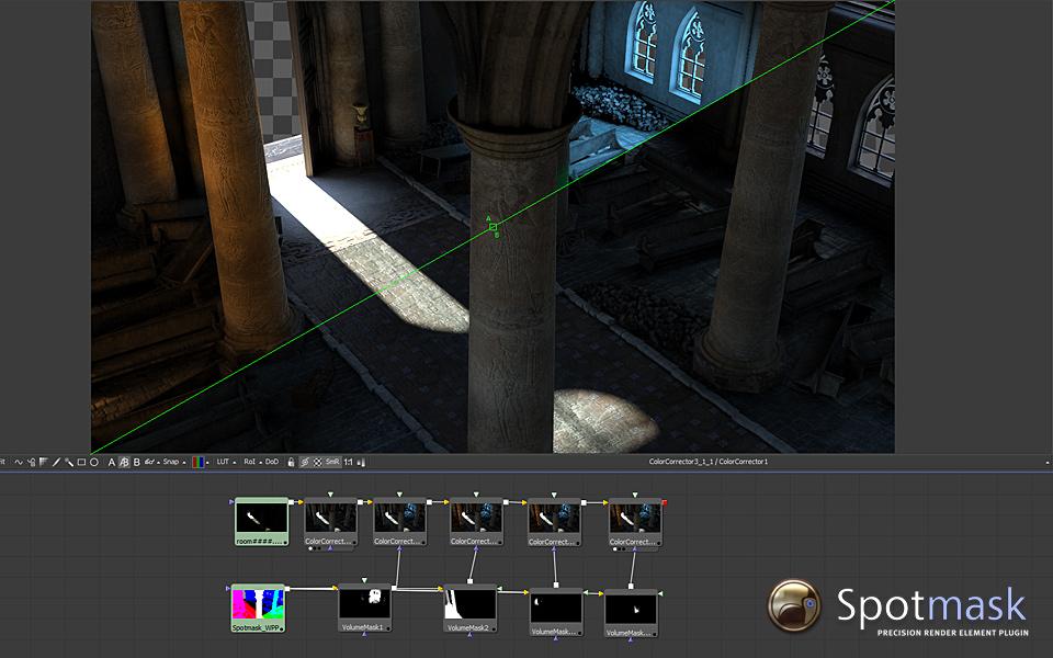 Spotmask precision plugin for Autodesk 3dsMax