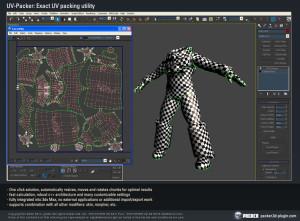 UV Packer for Autodesk 3ds Max