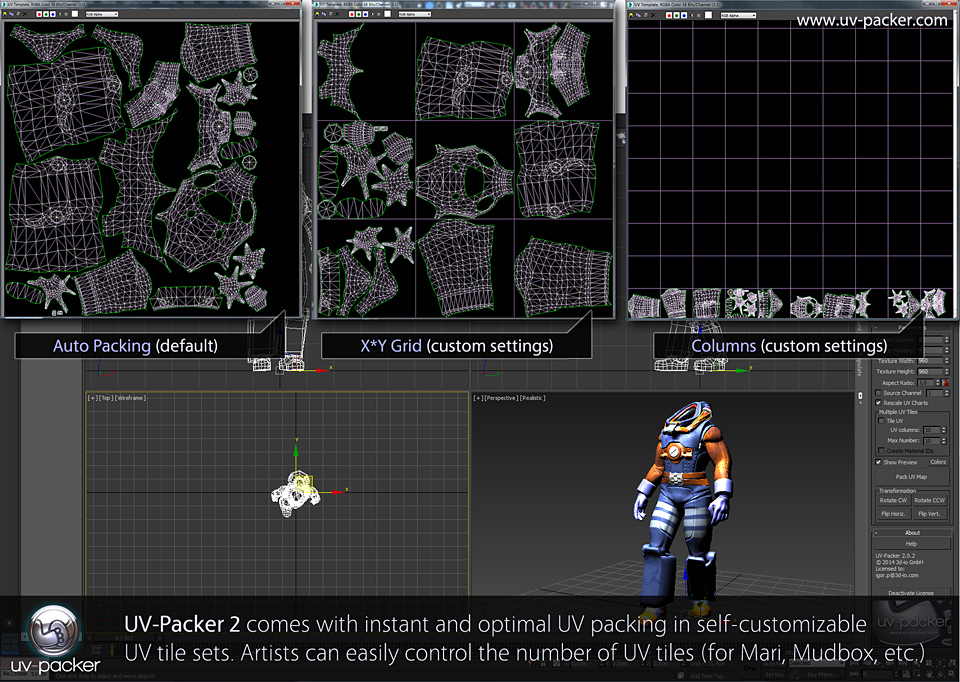 uv-packer 2 features