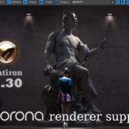 Flatiron 2.30 – Corona Renderer support