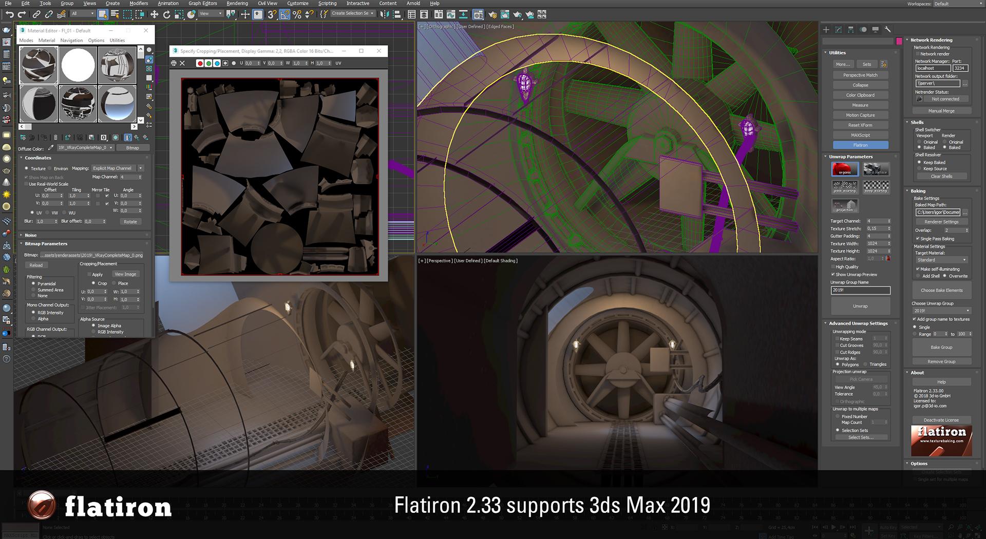 Flatiron 2.33 Autodesk 3ds Max 2019