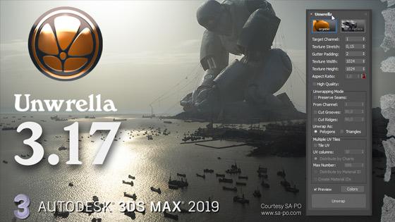 unwrella 3_17 Autodesk 3ds Max 2019
