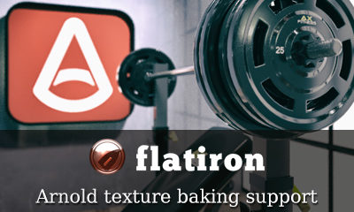 Flatiron 2.36 with Arnold Support