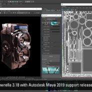 Unwrella for Maya 2019