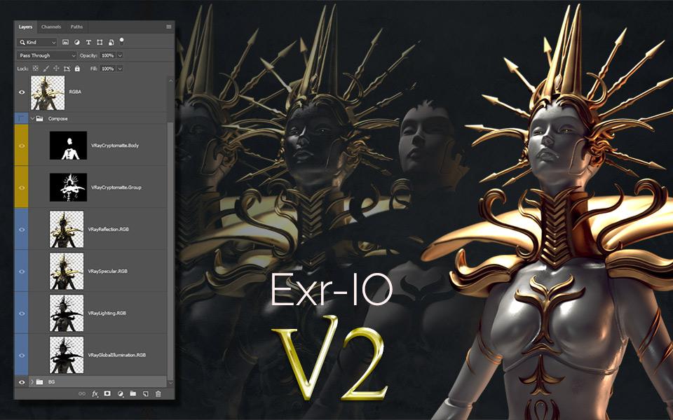 Exr-IO 2: Cryptomatte release