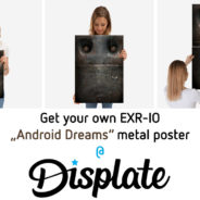 Get unique metal Posters created with 3d-Plugins!